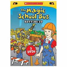 The Magic School Bus: Revving Up 3 Disc DVD Set - New/Sealed