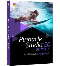 Pinnacle Studio 20 Ultimate - Video Editing Software for Windows ✔NEW✔