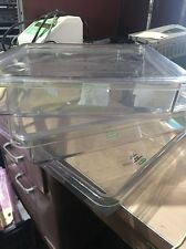 Lot of 3 BIORAD STORAGE BOXES (2 with lids) (2) cat 165-3430