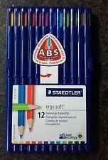 STAEDTLER Ergosoft 12 Matite colorate triangolari