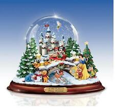 OLD FASHIONED DISNEY CHRISTMAS ILLUMINATED MUSICAL SNOW GLOBE MICKEY MINI INSTOC