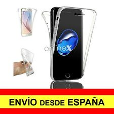 Funda Doble Transparente para IPHONE 7 Gel Silicona TPU a2386