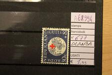 STAMPS FRANCOBOLLI OLANDA USATI N. 677 (A68994)