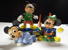 Lot de 3 figurines Bully Mickey Baby Walt Disney