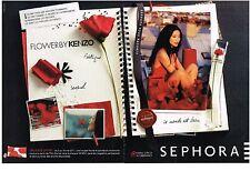 PUBLICITE  2011   KENZO  senteurs pour  SEPHORA  (2 pages)