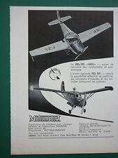 8/59 PUB MOTOIMPORT POLAND PZL-101 AGRICULTURAL PZL-102 AIRCRAFT / MATRA ADVERT