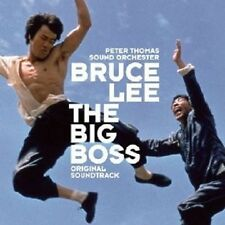 BRUCE LEE: THE BIG BOSS CD ORIGINAL SOUNDTRACK NEU