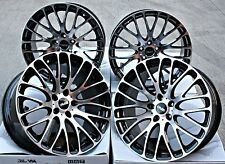 "19"" CRUIZE 170 ALLOY WHEELS BLACK WITH DIAMOND CUT FACE 5X110 19 INCH ALLOYS"
