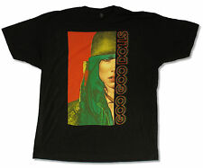 "GOO GOO DOLLS ""SPLIT TOUR 2013"" BLACK T-SHIRT NEW OFFICIAL MAGNETIC ADULT 2XL"