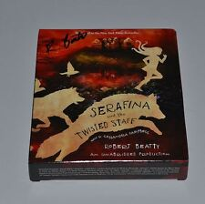 Serafina and the Twisted Staff by Robert Beatty SIGNED COMPACT DISCS BILTMORE