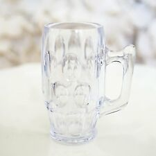 Set of 8 MINI BEER MUG Stein Shot Glass Plastic Wedding Favor Beerfest USA