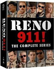 Reno 911: The Complete Series - 14 DISC SET (2014, DVD NEW)