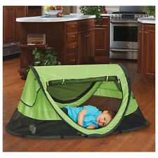 Kidco Peapod Plus Travel Bed in Kiwi Brand New!! P4010