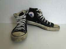 Converse All Star Chucks Sneaker Turnschuhe High Taylor Stoff Schwarz Gr. 8 / 41