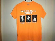 How To Kill A Zombie Shirt, Get Weapon - Aim - Don't Miss, funny, walking dead s