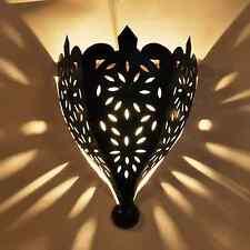 Große Orientalische wandlampe Marokkanische Lampe aus EISEN  -Tajia-  H 45cm NEU