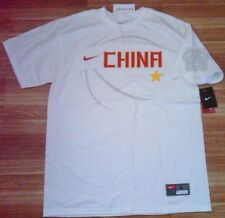 Rare New Nike vintage Team China Olympic baseketball t-shirt  L