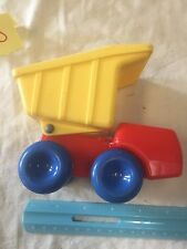 Vintage Little Tikes Toddle Tot Chunky People Dump Truck GUC
