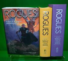 Signed x 22 ROGUES George RR Martin Patrick Rothfuss Subterranean Press #06 /500