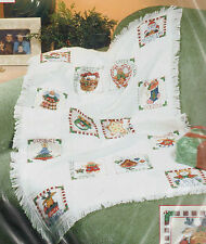 Christmas Treasures Afghan Cross Stitch Kit Dimensions Vicky Howard 29 x 45 USA