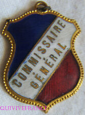 BG6981 - INSIGNE BADGE TRICOLORE - COMMISSAIRE GENERAL
