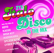 CD ZYX Italo Disco In The Mix von Various Artists