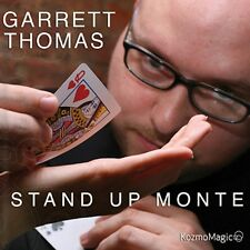 STAND UP MONTE DVD & BICYCLE GIMMICK BY GARRETT THOMAS MAGIC CARD TRICKS GAFF