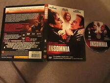 Insomnia de Christopher Nolan avec Al Pacino et Robin Williams, DVD, Thriller