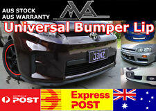 Universal Bumper Lip Spoiler Splitter for Ford Focus Mondeo Laser XR5 Turbo SR 2
