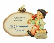 Hummel Merry Wanderer Plaque NIB German Authorized Retailer Plaque NEW IN BOX