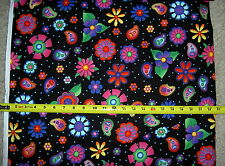 """Caterwauling collection on Black cats paw paws 34"""" BOLT END 0166  rjr fabric"""