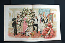 Taylor Crying Baby First Christmas Tree 1891 TOYS MUSIC DANCING DOLLS DRUM HORN