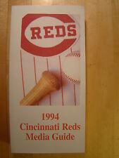 Cincinnati Reds  1994 Information Media Press Guide MLB Baseball