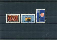 TURCHIA-TURKEY 1959 serie primo congresso internazionale di arte turca MNH