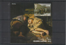 Union Island Grenadines St Vincent 2014 MNH Art of Russia Rossica 1v S/S Perov