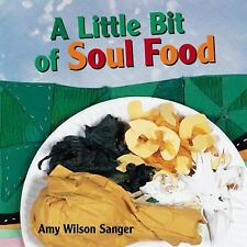 LITTLE BIT SOUL FOOD Amy Wilson Sanger NEW BOARD BOOKS