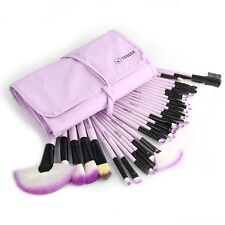 32pcs Soft Muticolor Vander LC Eyebrow Shadow Makeup Brush Set Kit + Pouch Bag