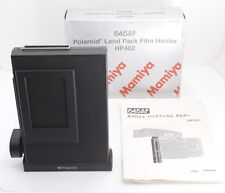 Exc+++++ Mamiya 645 HP402 AF AFD II POLAROID FILM HOLDER BACK BOXED FROM JAPAN