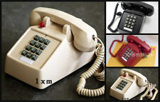Retro Cord Telephone Phone Vintage Classic Metal Ring Old Fashioned Work 1970's