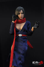"1/6 Resident Evil Ada Wong Costume Clothes Suits Set Fit 12"" Female Figure Body"