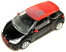 Citroen DS3 Racing Model Car Black with Red Roof Genuine AMC19308