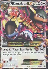 Pokemon TCG XY CARD Flashfire : M KANGASKHAN EX 79/106 ULTRA RARE
