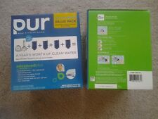 2 Packages Pur Mineral Clear Water Filtration 2 faucet mounts & 8 pur filters
