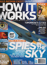 HOW IT WORKS MAGAZINE #83 APRIL 2016, SPIES IN THE SKY.
