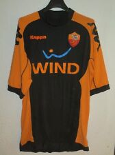 Maillot AS ROMA Kappa noir away vintage maglia calcio shirt Wind XL football