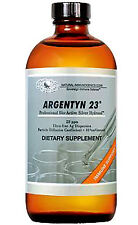Argentyn 23™ 4 oz 118 ml Natural Immunogenics Silver Hydrosol - Colloidal Silver