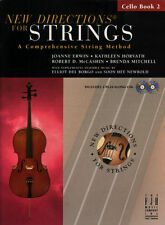 New Directions for Strings Cello Bk 2 & 2 CDs