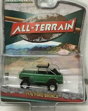 `76 Ford Bronco - Baja Racer Green 1976 * Greenlight All-Terrain 1:64 OVP *SALE*