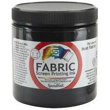 Speedball Art Products FSPI8-4560 Speedball Fabric Screen Printing Ink 8oz Black