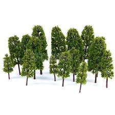 20 Green Model Trees 1:100-300 HO N Z Train Railway War Game Diorama Scenery